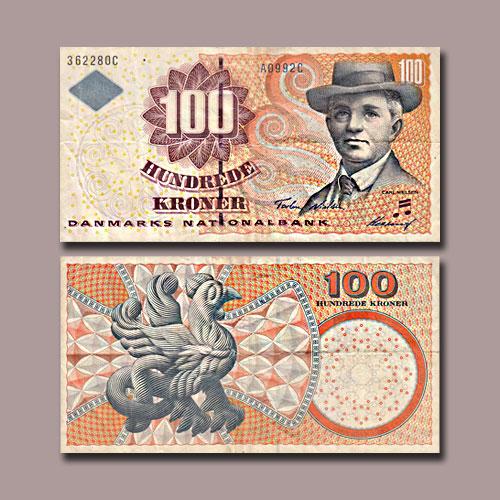 Denmark-100-Kroner-banknote-of-2003