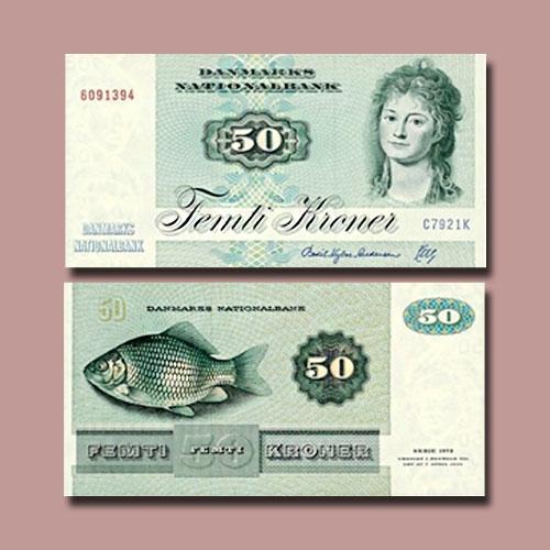 Denmark-50-Kroner-banknote-of-1992