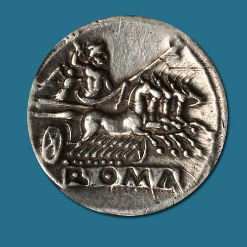 Distinguish-chariots-on-Roman-Coins