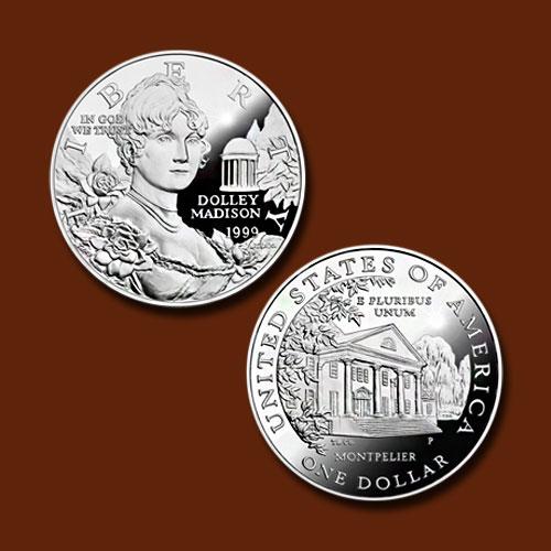 Dolley-Madison-Commemorative-Silver-Dollar
