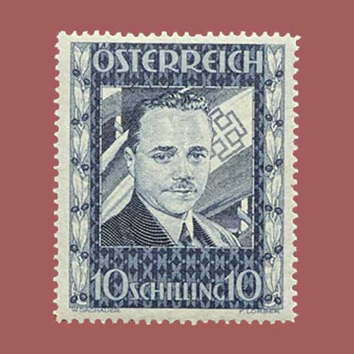 Dollfuss-10sh-Stamp-of-1936