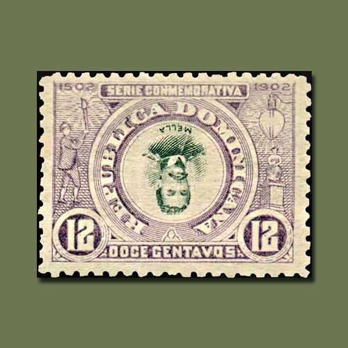 Dominican-Republic-Inverted-Center-Stamp-of-1902