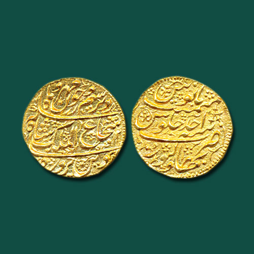 Durrani-Empire-Gold-Mohur-Sold-For-INR-70,000