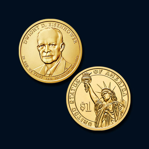 Dwight-David-'Ike'-Eisenhower-Commemorative-Coin
