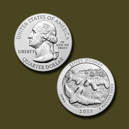 Effigy-Mounds-National-Monument-Quarter-Dollar