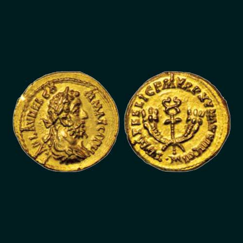 Emperor-Commodus-gold-Aureus