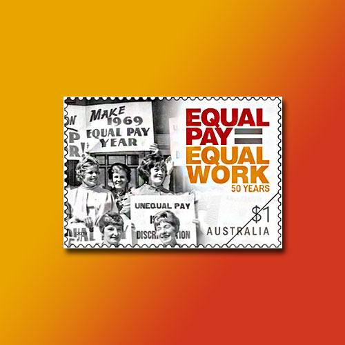 Equal-pay-for-Equal-Right-Stamp-of-Australia