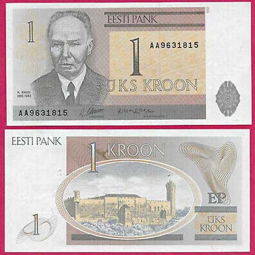 Estonia-1-Krooni-banknote-of-1992