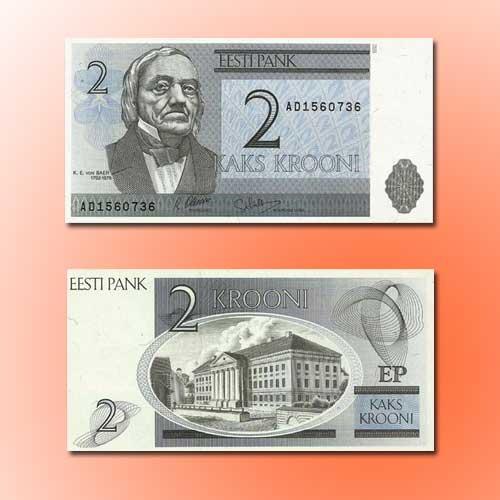 Estonia-2-Krooni-banknote-of-1992