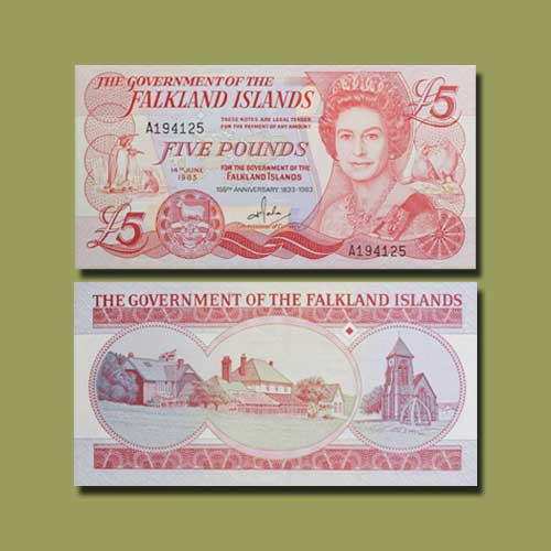 Falkland-Islands-5-Pounds-banknote-of-1985