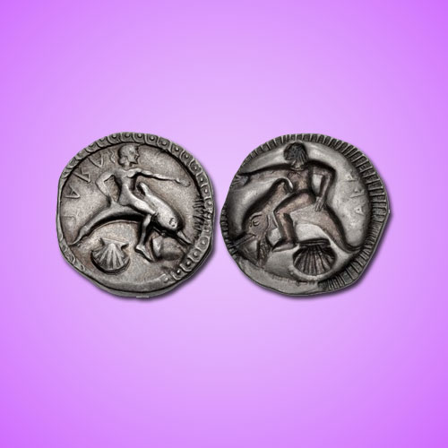 Famous-'Dolphin-Rider'-Coins-of-Tarentum