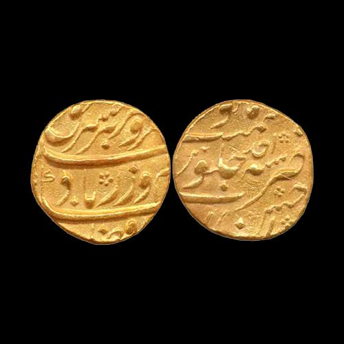 Farrukhsiyar-Gold-Mohur-listed-for-2,00,000