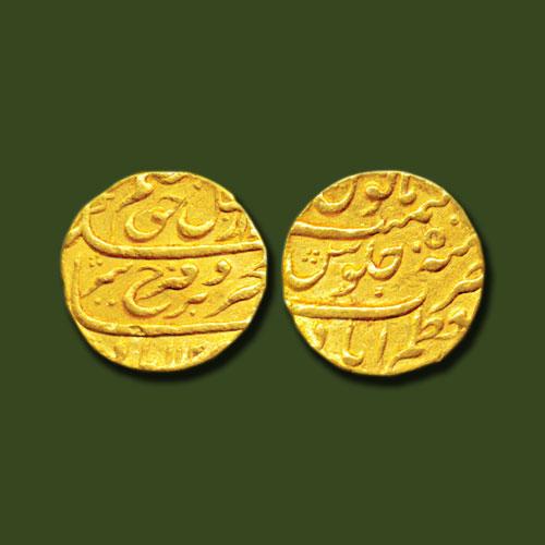 Farrukhsiyar-gold-mohur-listed-for-INR-100,000