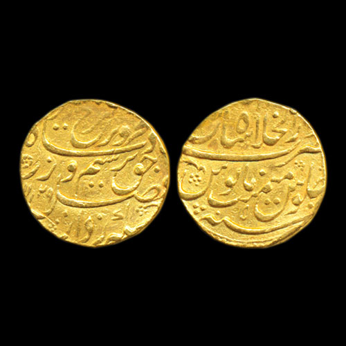Farrukhsiyar-Gold-Mohur-Sold-For-INR-36,000