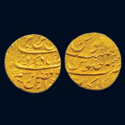 Farrukhsiyar's-Gold-Mohur