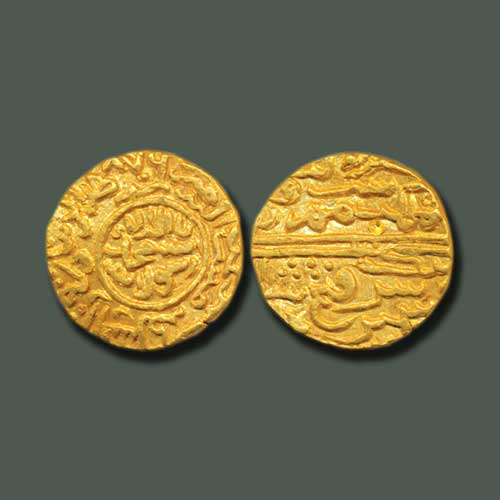 Fath-Shah-Gold-Tanka-Listed-For-INR-3,50,000
