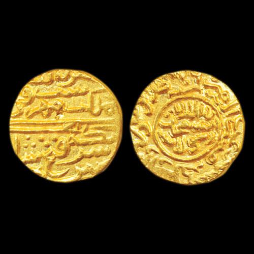 Fath-Shah's-Gold-Tanka-Estimated-For-INR-2,00,000