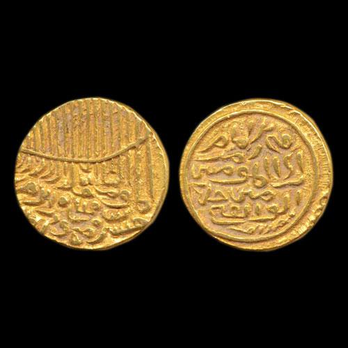Fi-Zaman-type-gold-Tanka-of-Husain-Shah