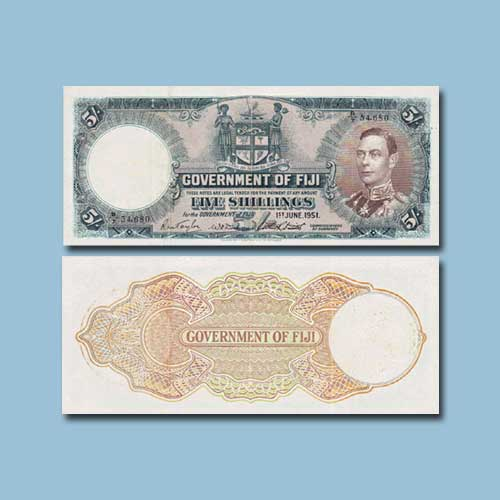 Fiji-5-Shillings-banknote-of-1942
