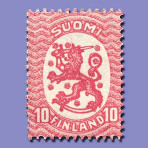 Finland's-First-Independent-Stamp-Issue