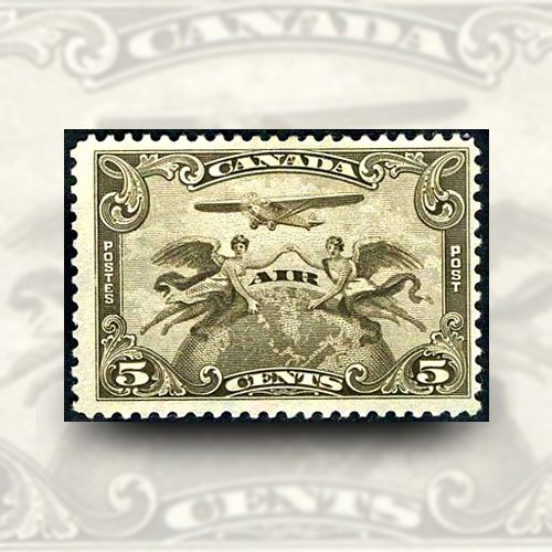 First-Airmail-Stamp-of-Canada
