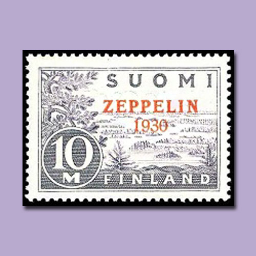 First-Airmail-Stamp-of-Finland