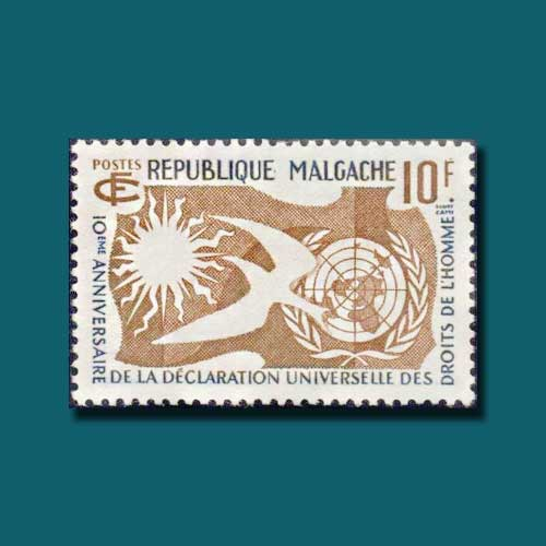 First-Commemorative-Stamp-of-Madagascar
