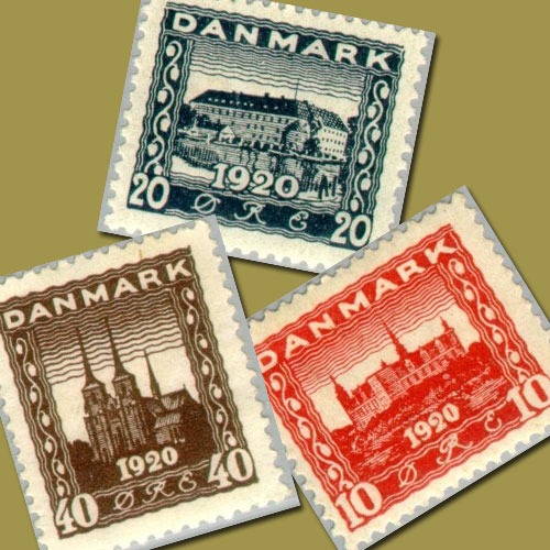 First-Commemorative-Stamps-of-Denmark