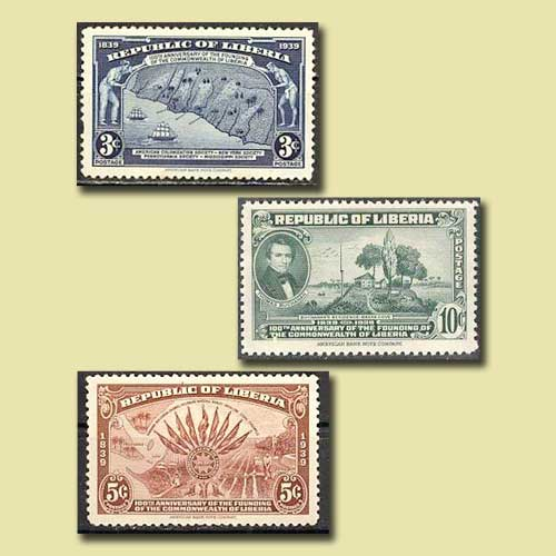 First-Commemorative-Stamps-of-Liberia