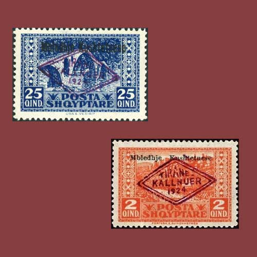 First-Commemoratives-of-Albania