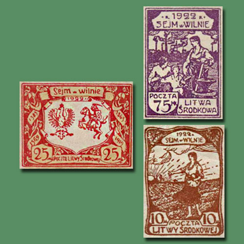 First-Commemoratives-of-Central-Lithuania