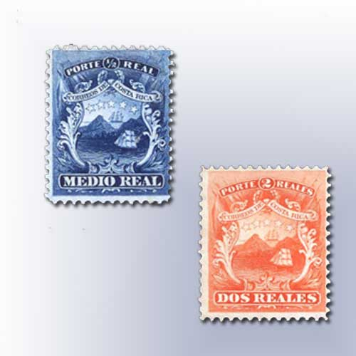 First-Costa-Rican-Stamps