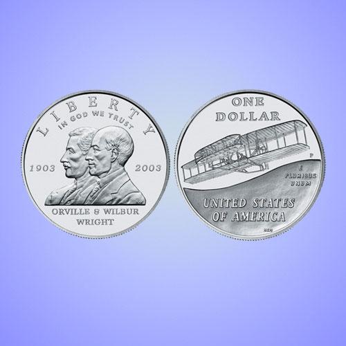 First-in-Flight-Centennial-Commemorative-Silver-Dollar-Coin