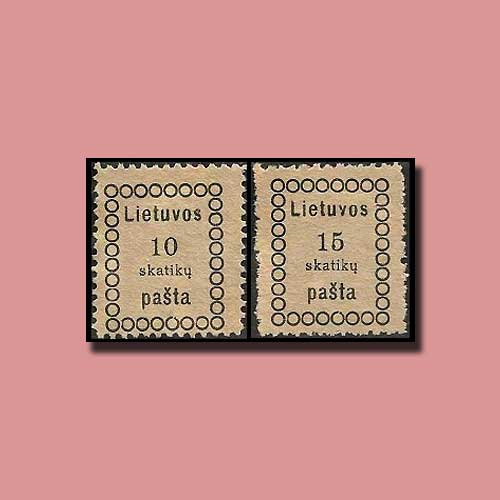First-Lithuanian-Stamps