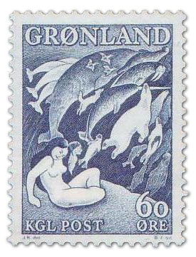 First Official Commemorative Stamps Of Greenland Mintage World
