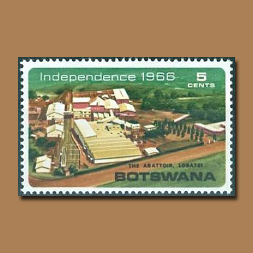 First-Stamp-of-Botswana-Features-an-Abattoir