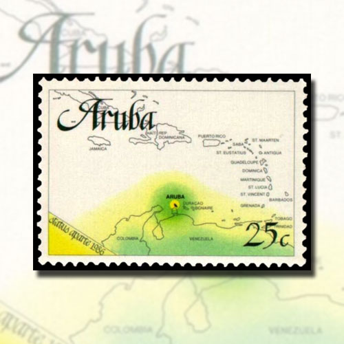 First-Stamps-of-Independent-Aruba