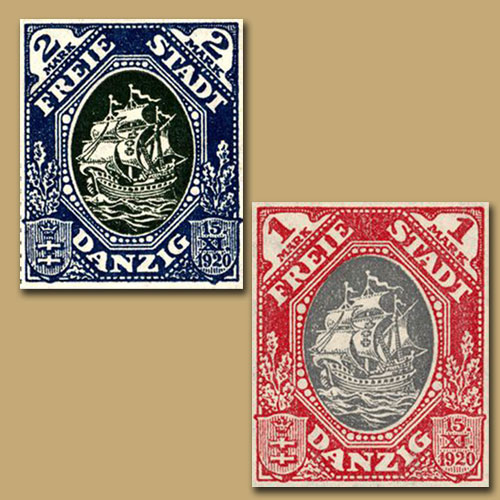 First-Stamps-of-Freistadt-Danzig