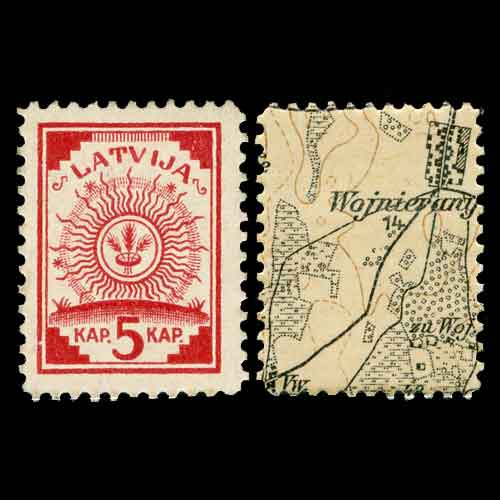 First-Stamps-of-Latvia