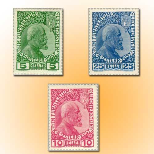 First-Stamps-of-Liechtenstein