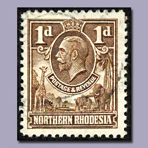 First-stamps-of-Northern-Rhodesia