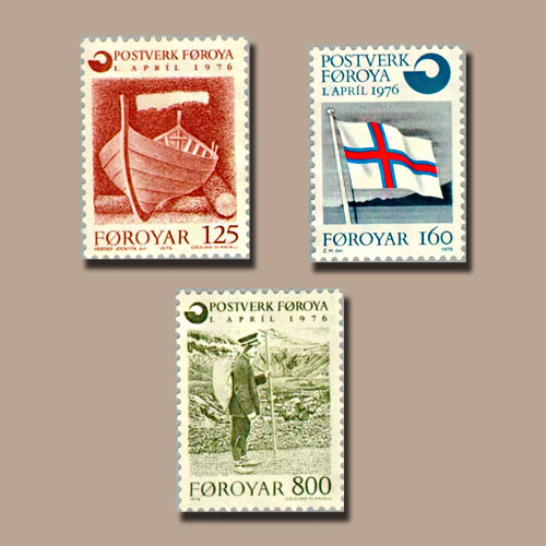 First-Stamps-of-Postverk-Foroya