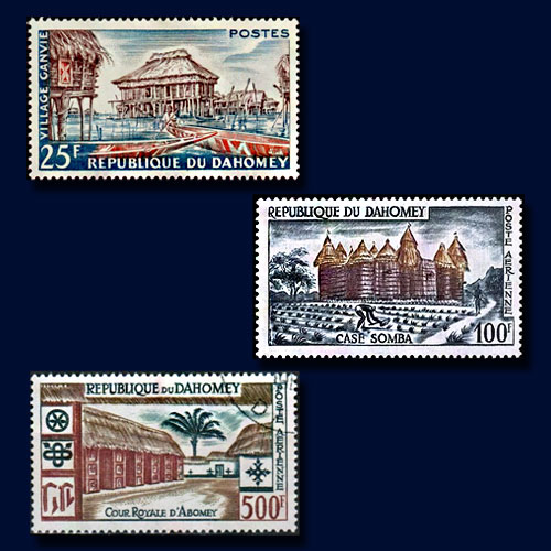 First-Stamps-of-the-Republic-of-Dahomey-