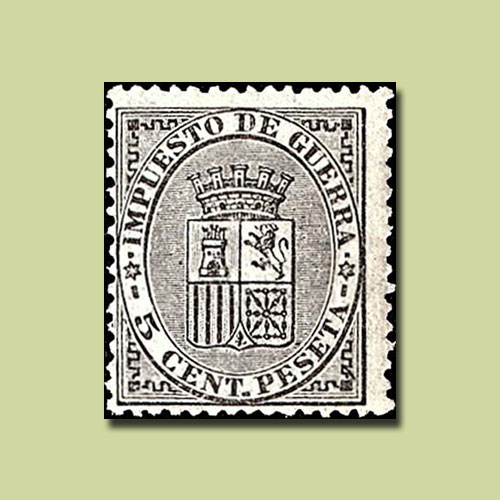 First-War-Tax-Stamp-of-Spain
