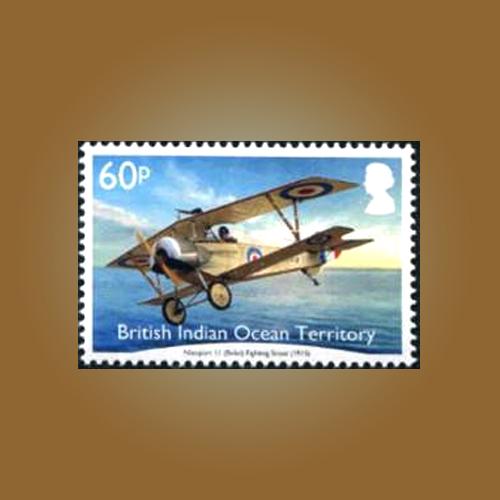First-World-War-Aircraft-Stamp
