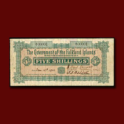 Five-Shilling-of-Falkland-Islands