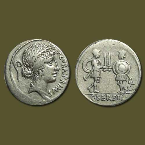 Flora-on-a-Roman-coin