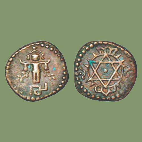 Four-Cash-of-Uthram-Thirunal-Marthanda-Varma