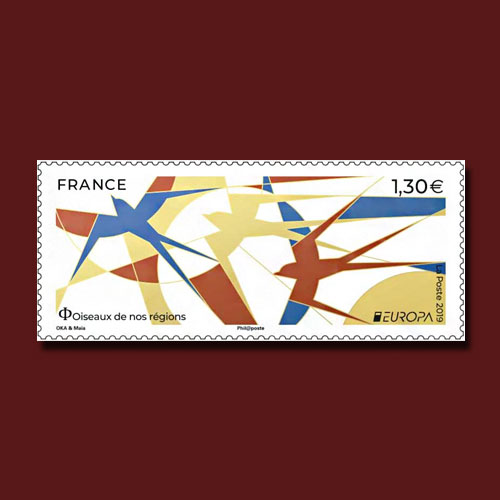 France's-2019-Europa-Stamp