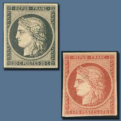 """France's-""""Timbres-Postales"""""""